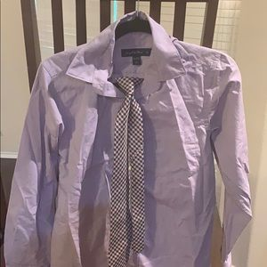 Joseph & Feiss Shirts & Tops - Joseph & Feiss short size 16 with a tie